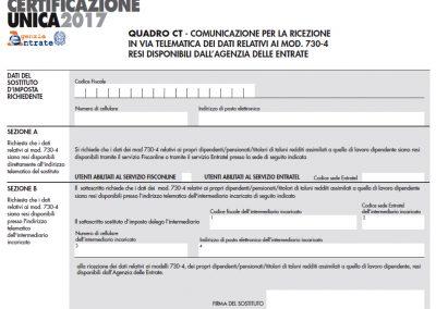 CU – Certificazione Unica